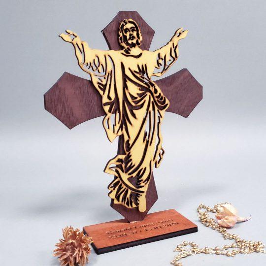 Crucifijo de Recuerdo para Novenario