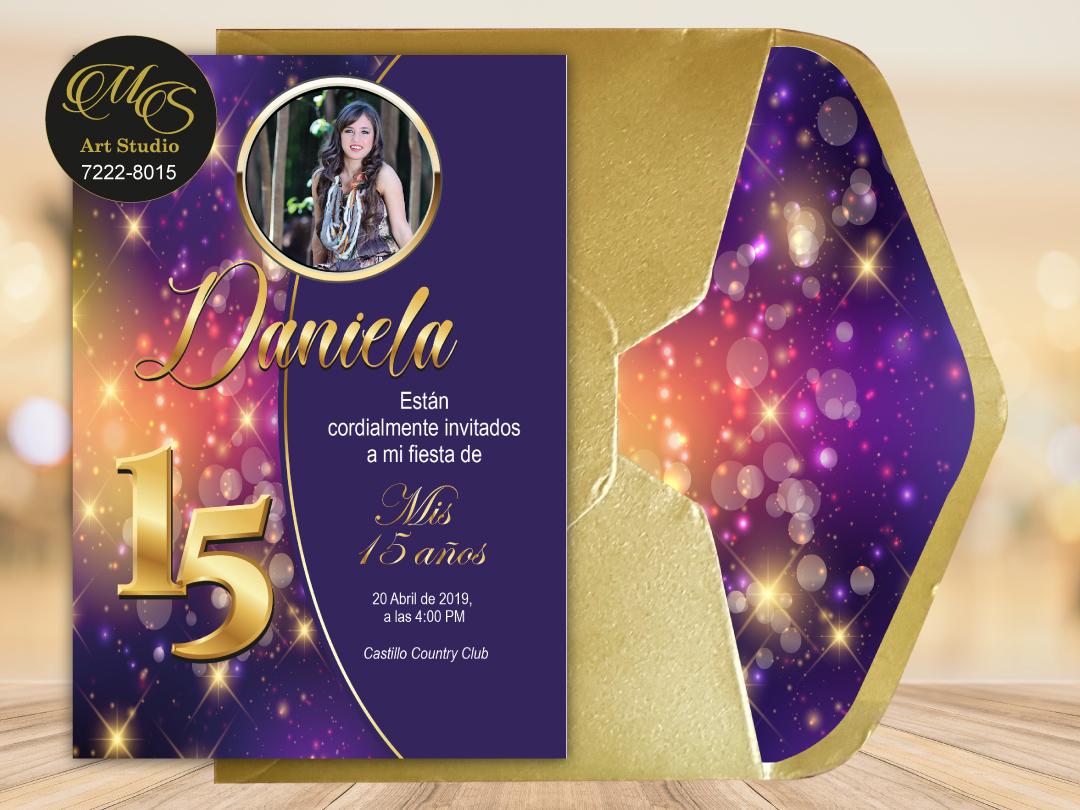 Invitación Lord PR XV